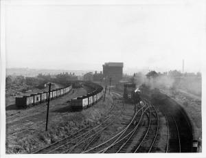 Wardleworth panorama from Taylor street bridge Ivatt 2-6-0 p